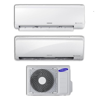 Samsung AJ040NCJ2EG + AR09NXFPEWQNEU + AR12NXFPEWQNEU condizionatore d'aria dual split