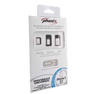 Phonix SIM3ADT adattatore per SIM/flash memory card Adattatore scheda SIM