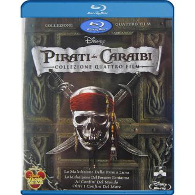 Pirati dei Caraibi - collezione 4 film Blu-ray