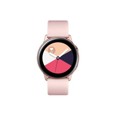 Samsung Galaxy Watch Active, Bluetooth v4.2, 40 mm, con GPS, Sensore di Frequenza Cardiaca, 230 mAh, Rose Gold