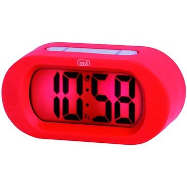 Trevi 0SL387002 Digital alarm clock Rosso sveglia