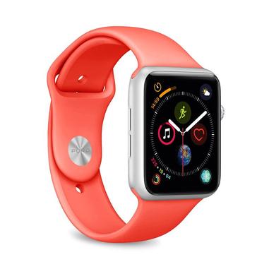 PURO Apple Watch Band cinturino 42-44mm Living Coral