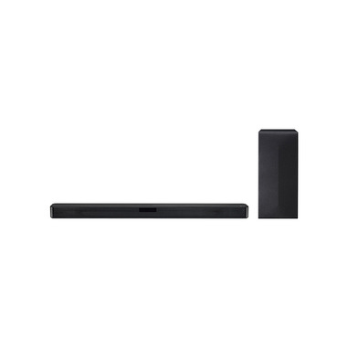 LG SN4.DEUSLLK altoparlante soundbar 2.1 canali 300 W Argento