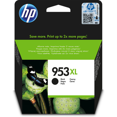 HP Cartuccia di inchiostro nero originale ad alta capacità 953XL