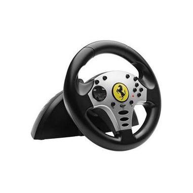 Thrustmaster Ferrari Challenge Racing Wheel (PC/PS3) Sterzo + Pedali PC,Playstation 3 Digitale Game port Nero, Argento