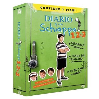 Diario di una schiappa 1, 2 e 3 (DVD)