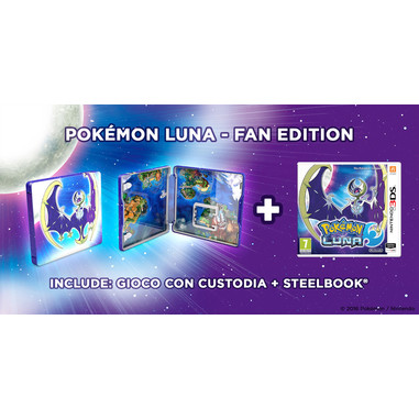 Pokémon Luna fan edition - Nintendo 3DS