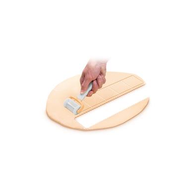 Tescoma Rullo taglia ravioli quadrati 7 cm Delicia