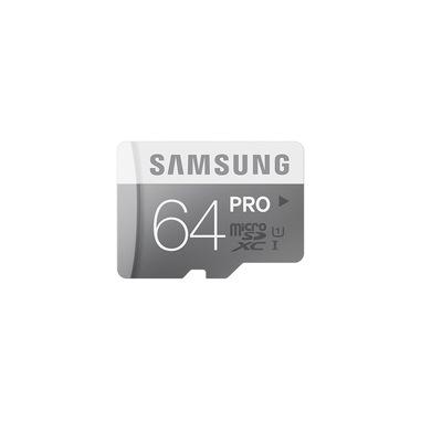 Samsung 64GB, MicroSDXC PRO memoria flash UHS Classe 10