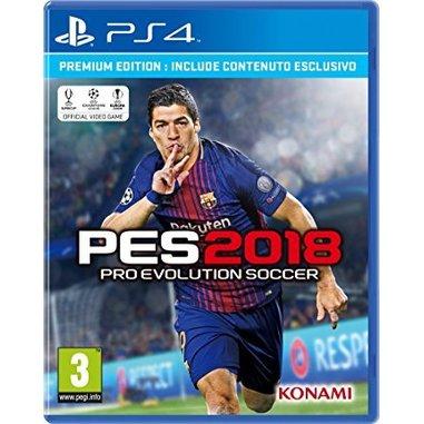 Pro Evolution Soccer 2018, Premium Ed PS4