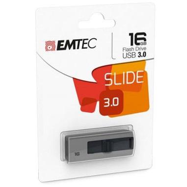 Emtec B250 Slide unità flash USB 16 GB USB tipo A 3.2 Gen 1 (3.1 Gen 1) Grigio