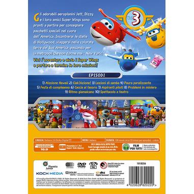 Super Wings - Viaggi In America Vol 3 (DVD)