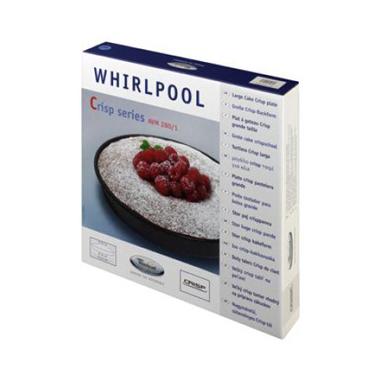 Whirlpool Tortiera crisp per microonde 28 cm