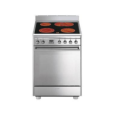 Smeg CX68CM8 Libera installazione 68L A Acciaio inossidabile cucina