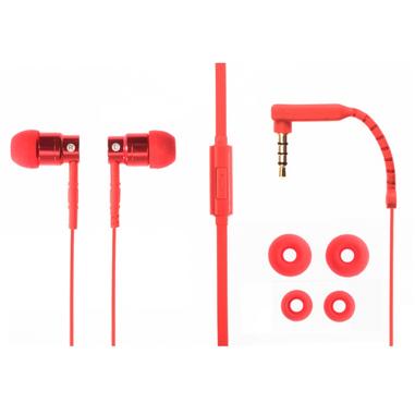 Aiino Jazz auricolari in-ear, rosso