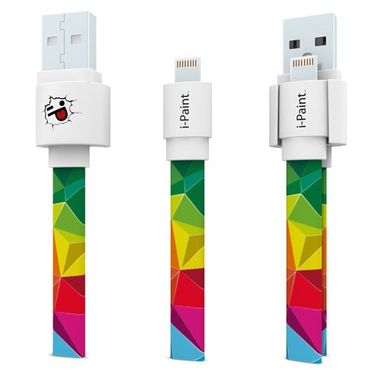 i-Paint USB/Lightning 1.0 m Rainbow
