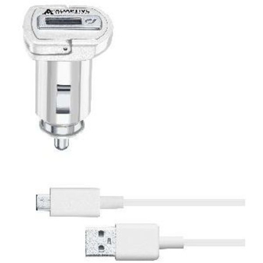 Cellularline CBRSMKIT15WMUSBW Auto Bianco caricabatterie per cellulari e PDA