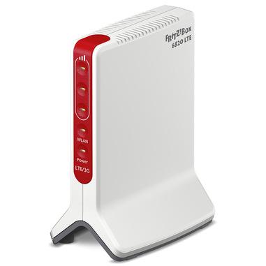 AVM FRITZ!Box 6820 LTE International router wireless Banda singola (2.4 GHz) Gigabit Ethernet 3G 4G Bianco