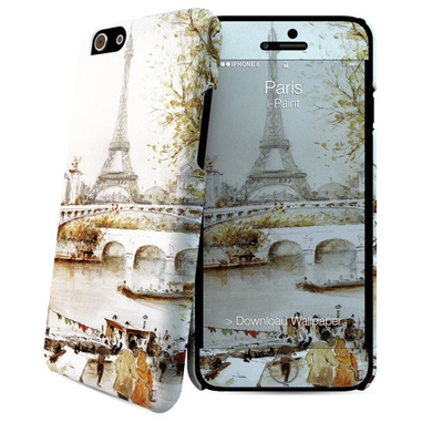 i-Paint Paris custodia per cellulare