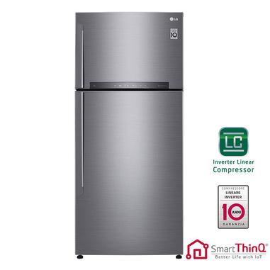 LG GTB744PZHZD frigorifero con congelatore Libera installazione 506 L E Acciaio inossidabile