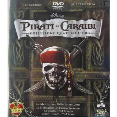 Pirati dei Caraibi - collezione 4 film (DVD)