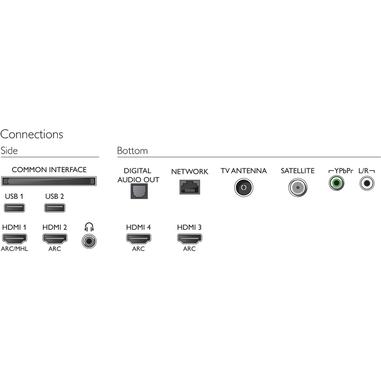 Philips 65PUS7303/12 UHD 4K ultra sottile