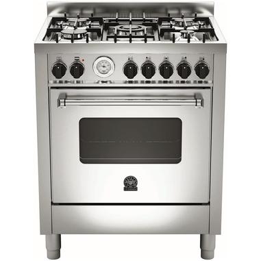 Bertazzoni La Germania Americana AMN705GEVSXT Piano cottura Gas A+ Acciaio inossidabile cucina