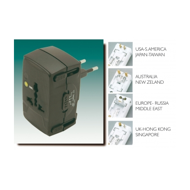 G&BL MSTRAVEL adattatore per presa di corrente
