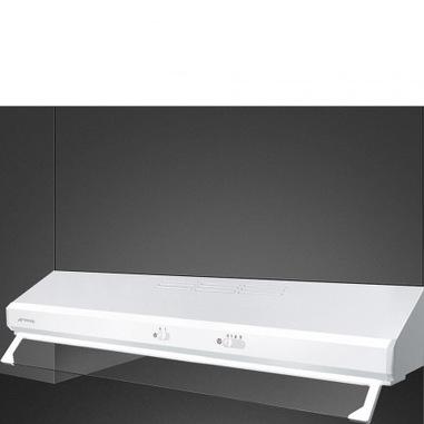 Smeg KSEC91BE2 cappa aspirante Incassato Bianco 285 m³/h D