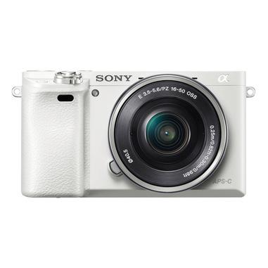Sony Alpha 6000L, fotocamera mirrorless con obiettivo 16-50 mm, attacco E, sensore APS-C, 24.3 MP