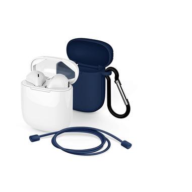 Meliconi MySound SAFE PODS 5.1 + Blue Cover Cuffia Auricolare Bluetooth Bianco