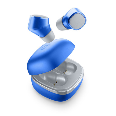 AQL Evade - Universale Auricolari in-ear В«No-wiresВ» con custodia di ricarica Blu