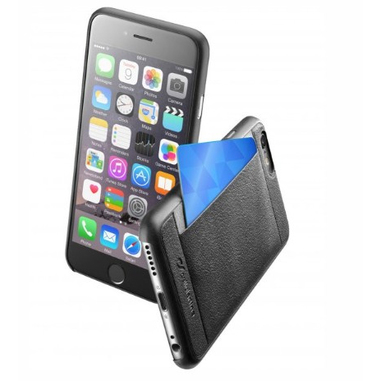Cellularline POCKETSLIMIPH655K custodia per cellulare Cover Nero