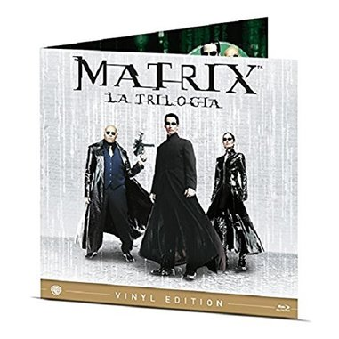 The Matrix Collection - Vinyl Edition (Blu-Ray)