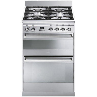 Smeg SUK62MX8 cucina Piano cottura Gas Acciaio inossidabile A-10%