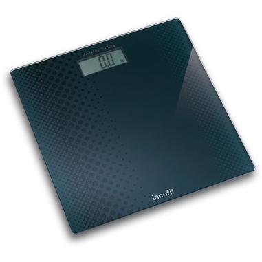 Innofit INN-101 Bilancia pesapersone elettronica Blu bilance pesapersone