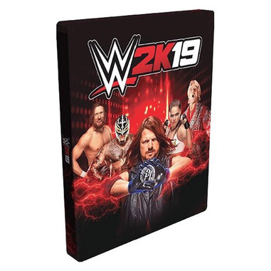 Take-Two Interactive WWE 2K19 Steelbook Edition, PS4 PlayStation 4
