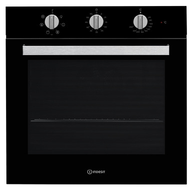 Indesit IFW 6530 BL forno 66 L A Nero