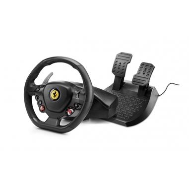 Thrustmaster T80 Ferrari 488 GTB Edition Sterzo + Pedali PlayStation 4 Digitale Nero
