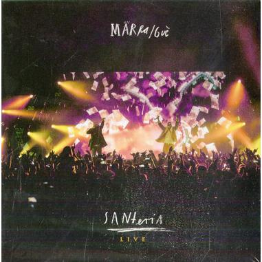 Santeria Live, 2CD+DVD