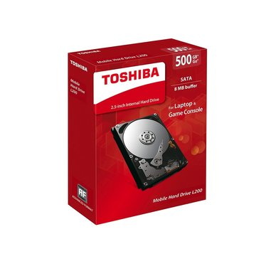 Toshiba internal HDD L200 500GB