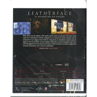 Leatherface - Il massacro ha inizio DVD