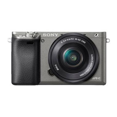 Sony α ILCE-6000 + E PZ 16-50mm MILC 24,3 MP CMOS 6000 x 4000 Pixel Nero, Grafite
