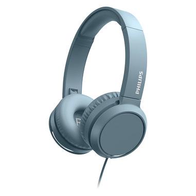 Philips 3000 series TAH4105BL/00 cuffia e auricolare Padiglione auricolare Connettore 3.5 mm Blu