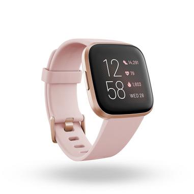 "Fitbit Versa 2 3,55 cm (1.4"") 40 mm AMOLED Nero, Rose Gold"