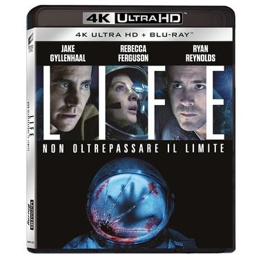 Life: Non Oltrepassare il Limite, Blu-Ray 4K UltraHD Blu-ray 2D ITA