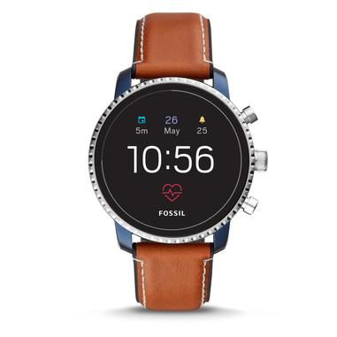 Fossil Q Explorist HR smartwatch Blu