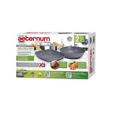 Aeternum Y0C6SET011 set di pentole Madame Petravera Plus