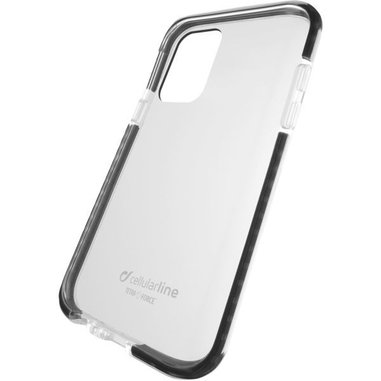 """Cellularline TETRACGALA51T custodia per cellulare 16,5 cm (6.5"""") Cover Nero, Trasparente"""