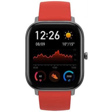 Amazfit GTS smartwatch Rosso AMOLED 4,19 cm (1.65